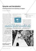 Sprache und Verständnis - Schülerkommunikation bei der Bearbeitung von Aufgaben Preview 1