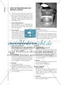 Das Salz gibt die Farbe ab - Zur Einführung eines tragfähigen Löslichkeitskonzepts Preview 5