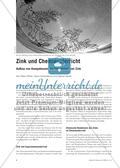 Zink und Chemieunterricht - Aufbau von Kompetenzen am Themenbeispiel Zink Preview 1
