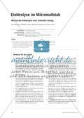 Elektrolyse im Mikromaßstab - Microscale-Elektrolyse einer Zinkiodid-Lösung Preview 1