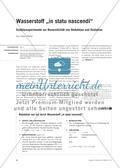 """Wasserstoff """"in statu nascendi"""" - Schülerexperimente zur Reversibilität von Reduktion und Oxidation Preview 1"""