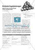 Dichteste Kugelpackungen - Metalle im Fokus des Basiskonzepts Struktur und Eigenschaften Preview 1