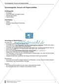 Chromatografie von Filzstiften - Auftrennung der Farben auf einem Papierrundfilter Preview 1