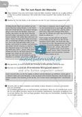 Symbole aus der Bibel: Die Tür und der Schlüssel mit Aufgaben und Lösungen Preview 3
