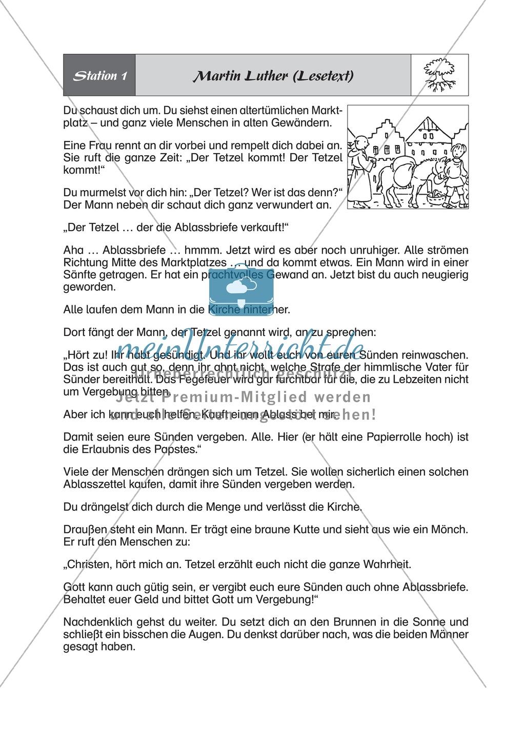 Glaube: Martin Luther - Die Abschaffung des Ablasses Preview 1