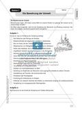 Schöpfung: Die Bedrohung der Umwelt. Arbeitsmaterial mit Erläuterungen Preview 1