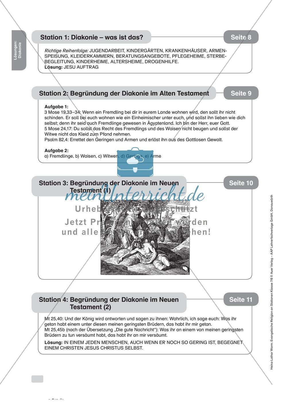 Diakonie: Die Entstehung im AT und NT Preview 3