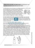 Jesus: Die Kreuzigung + Lehrerinformationen + Unterrichtsideen Preview 1