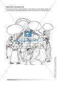 Jesus: Unterrichtsvorschlag zum Thema Palmsonntag + Lehrerinformation + Arbeitsblätter Thumbnail 3