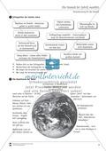 Verantwortung für die Umwelt: Naturkatastrophen - was wir aus ihnen lernen können - Arbeitsblätter Preview 1