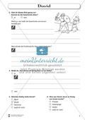 David: Fragebogen zum Wissensstand der Schüler Preview 2