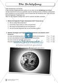 Die Schöpfung: Fragebogen zum Wissensstand der Schüler Preview 1