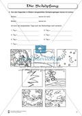 Die Schöpfung: Fragebogen zum Wissensstand der Schüler Preview 2