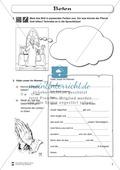 Beten: Fragebogen zum Wissensstand der Schüler Preview 2