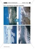 Erdkunde, Naturbedingungen und -ereignisse, Landschaftsformen und -prozesse, Ökosysteme, Gebirge, Geologie, Gletscher, landschaftsveränderung