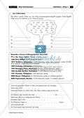 Vulkantypen und Vulkanausbrüche - kurzes informatives Arbeitsblatt mit Rätselspaß Thumbnail 1