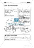Vulkantypen und Vulkanausbrüche - kurzes informatives Arbeitsblatt mit Rätselspaß Thumbnail 2