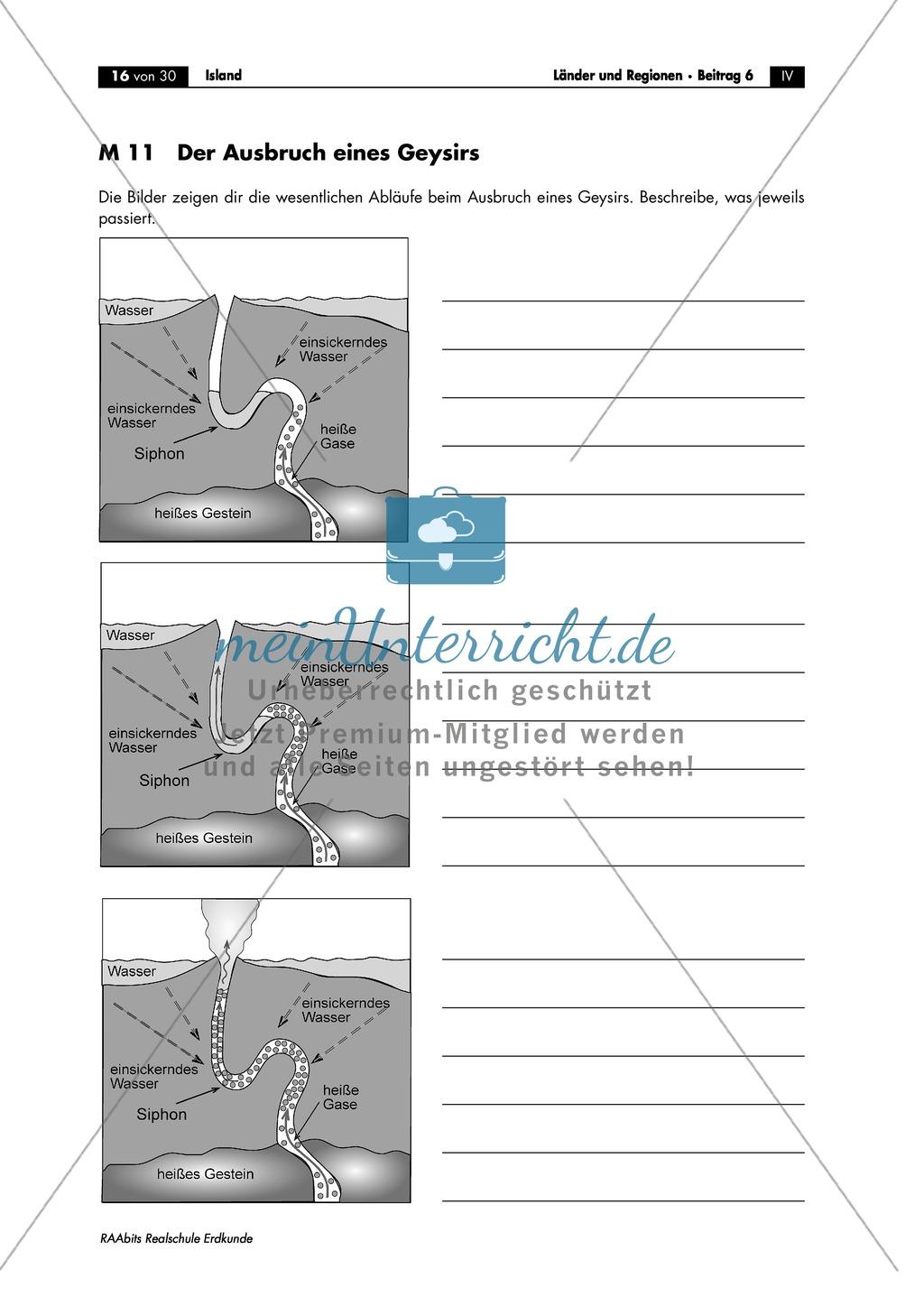 Island - die Vulkaninsel: Heiße Quellen und Geysire Preview 1