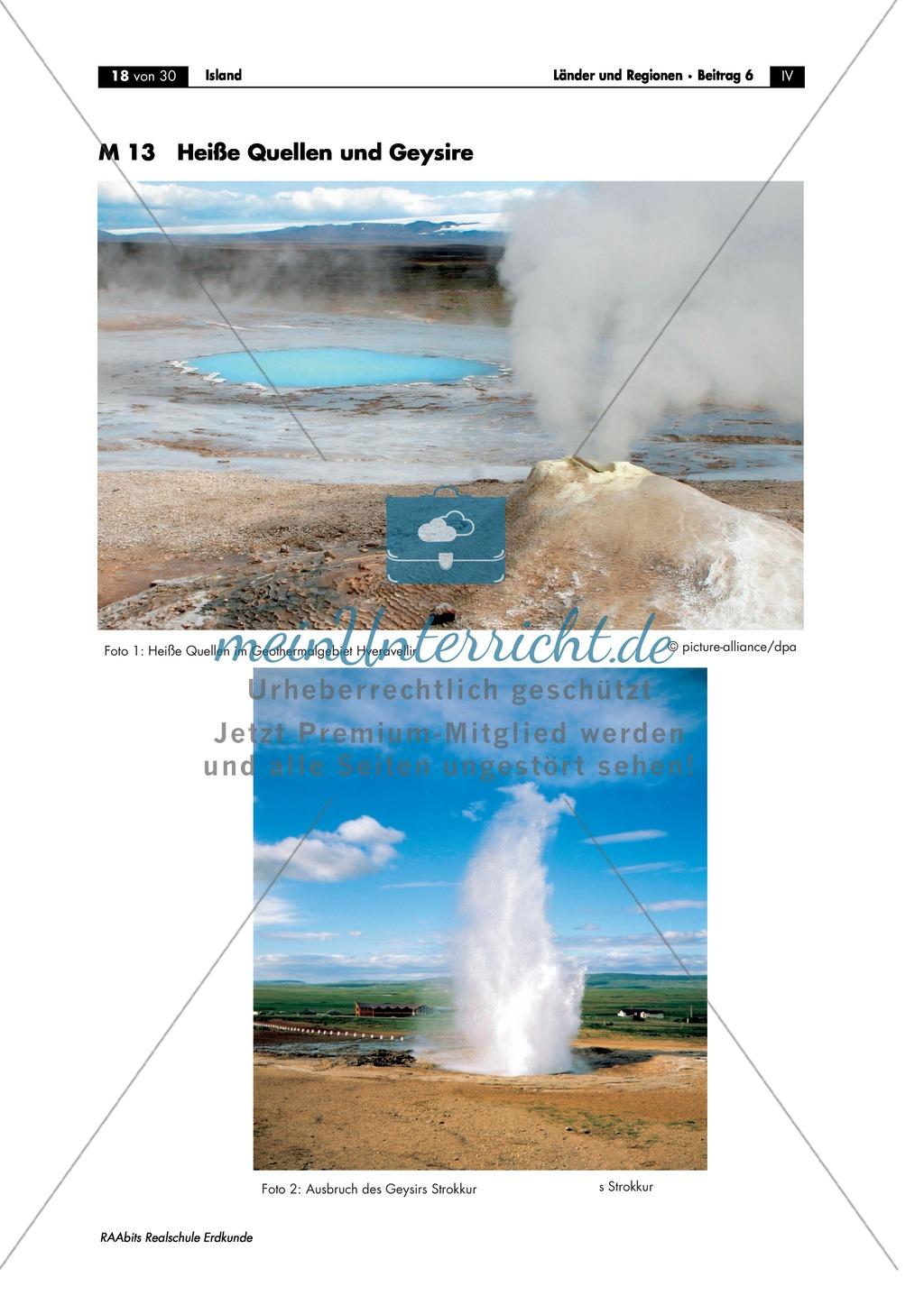 Island - die Vulkaninsel: Heiße Quellen und Geysire Preview 3