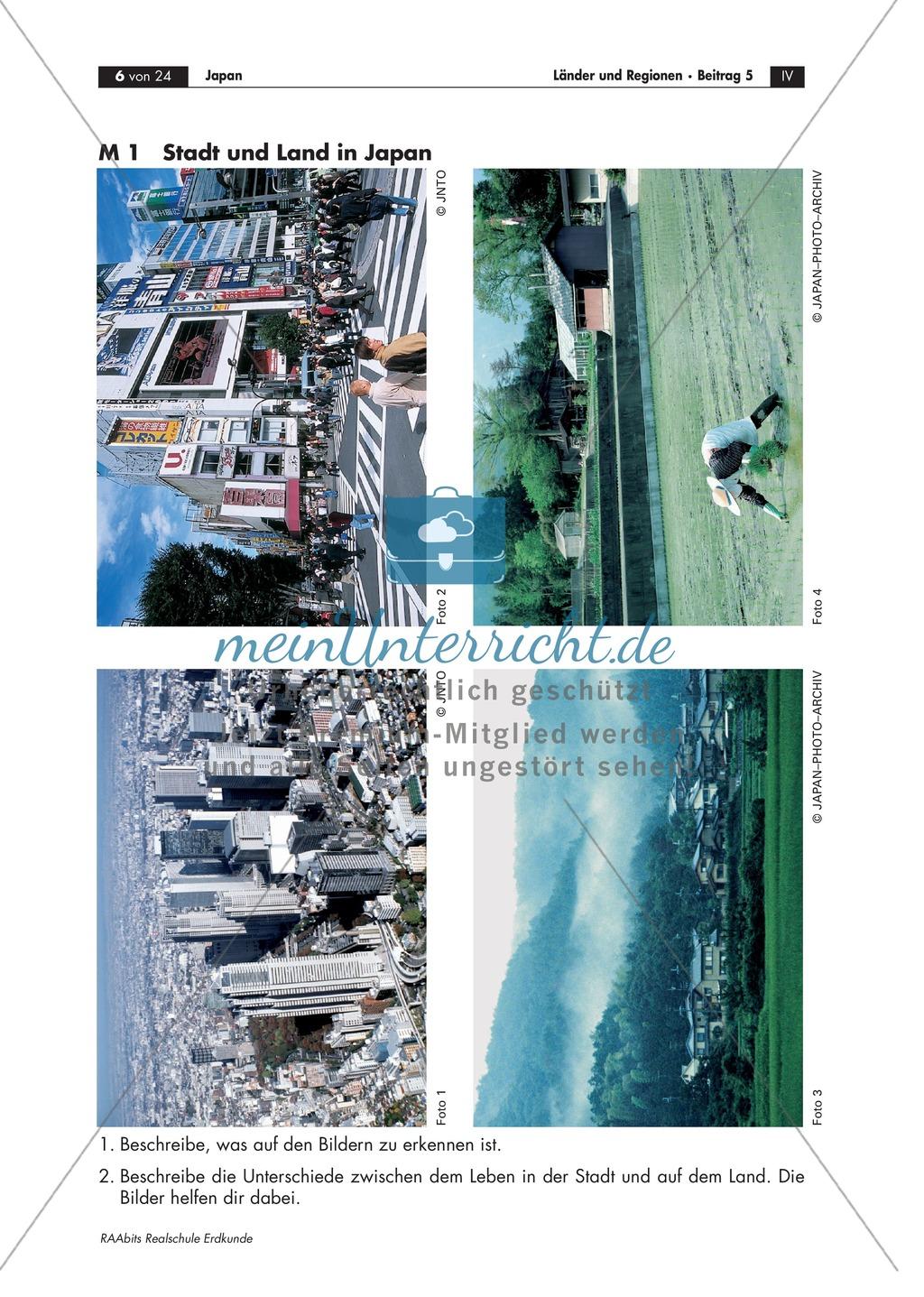 Unterschiede zwischen Stadt und Land in Japan: Bilder + eine Geschichte Preview 0