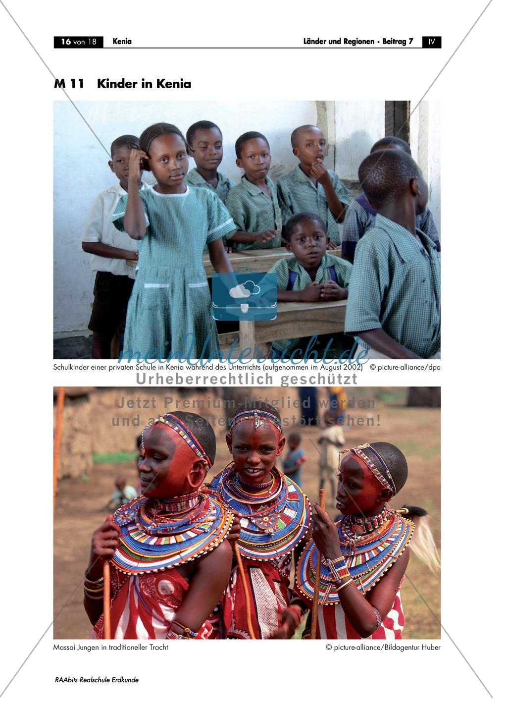 Leben in Kenia: Kultur und Alltag der Massai + Schulalltag Preview 2