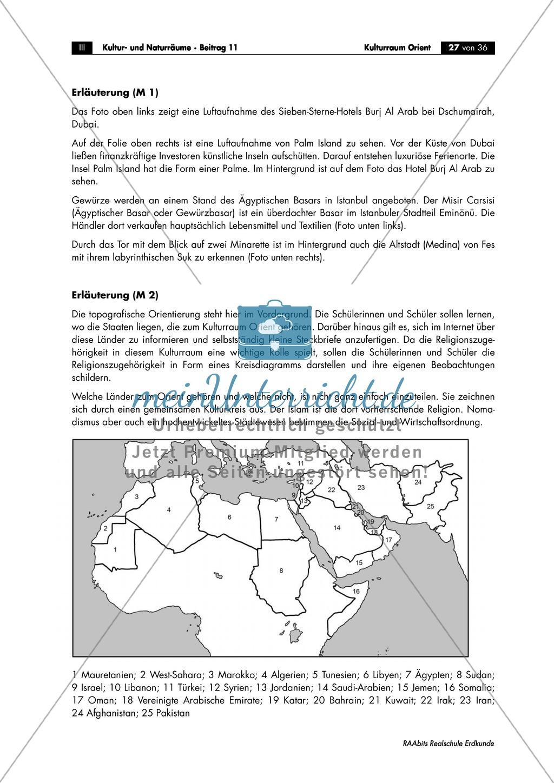 Den Orient physisch geographisch einorden: Klima + Topographie Preview 4
