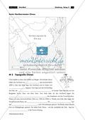 China: Aufgaben zur Topografie und Länderkunde Thumbnail 1