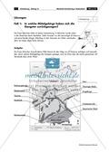 Lernzirkel zur räumlichen Orientierung in Deutschland: Bundesländer + Nachbarländer + Flüsse + Gebirge und Landschaften + Hauptstädte + Autokennzeichen + Wappen Preview 16