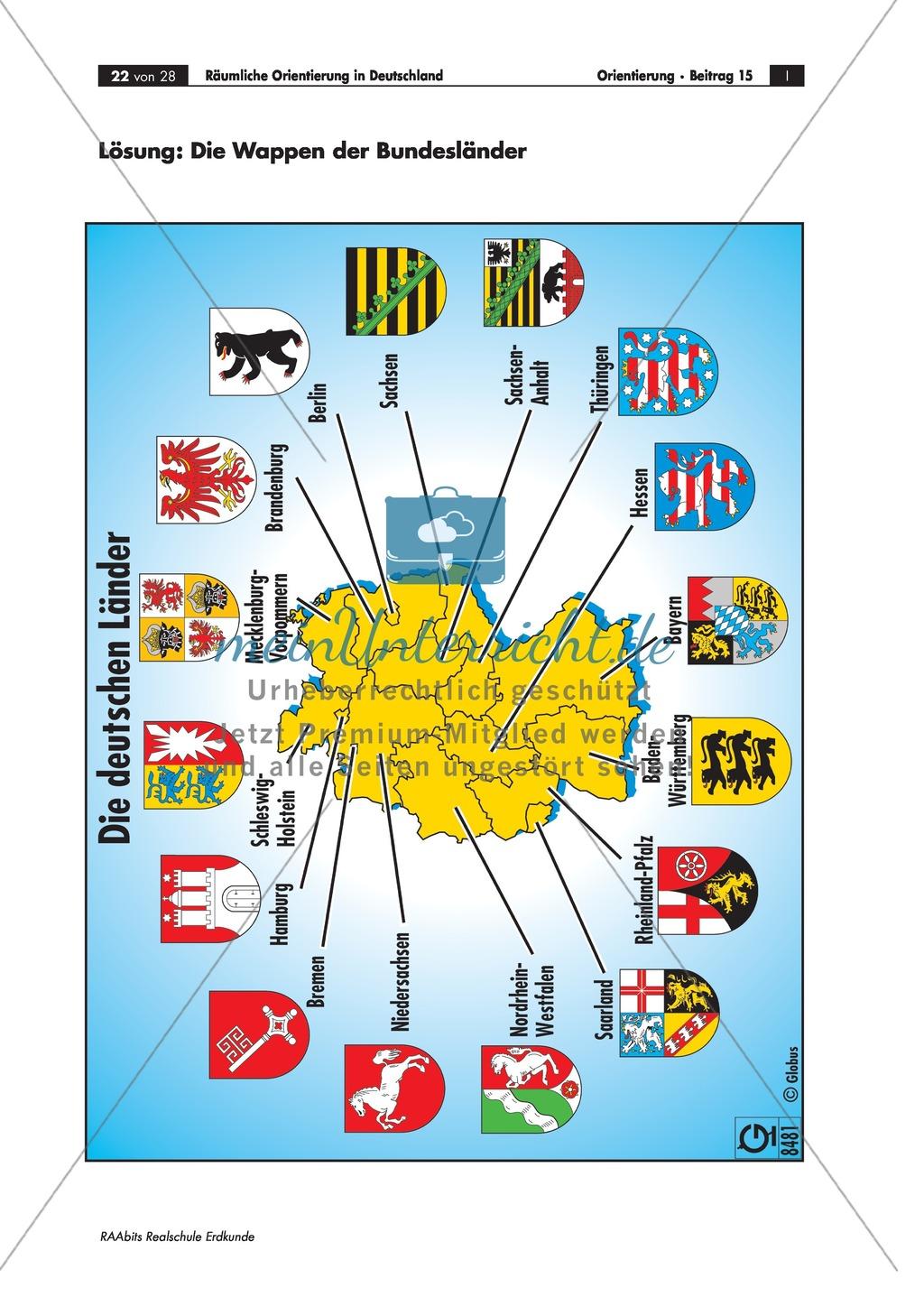 deutschland bundesländer hauptstadt karte