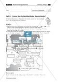 Lernzirkel zur räumlichen Orientierung in Deutschland: Bundesländer + Nachbarländer + Flüsse + Gebirge und Landschaften + Hauptstädte + Autokennzeichen + Wappen Preview 9