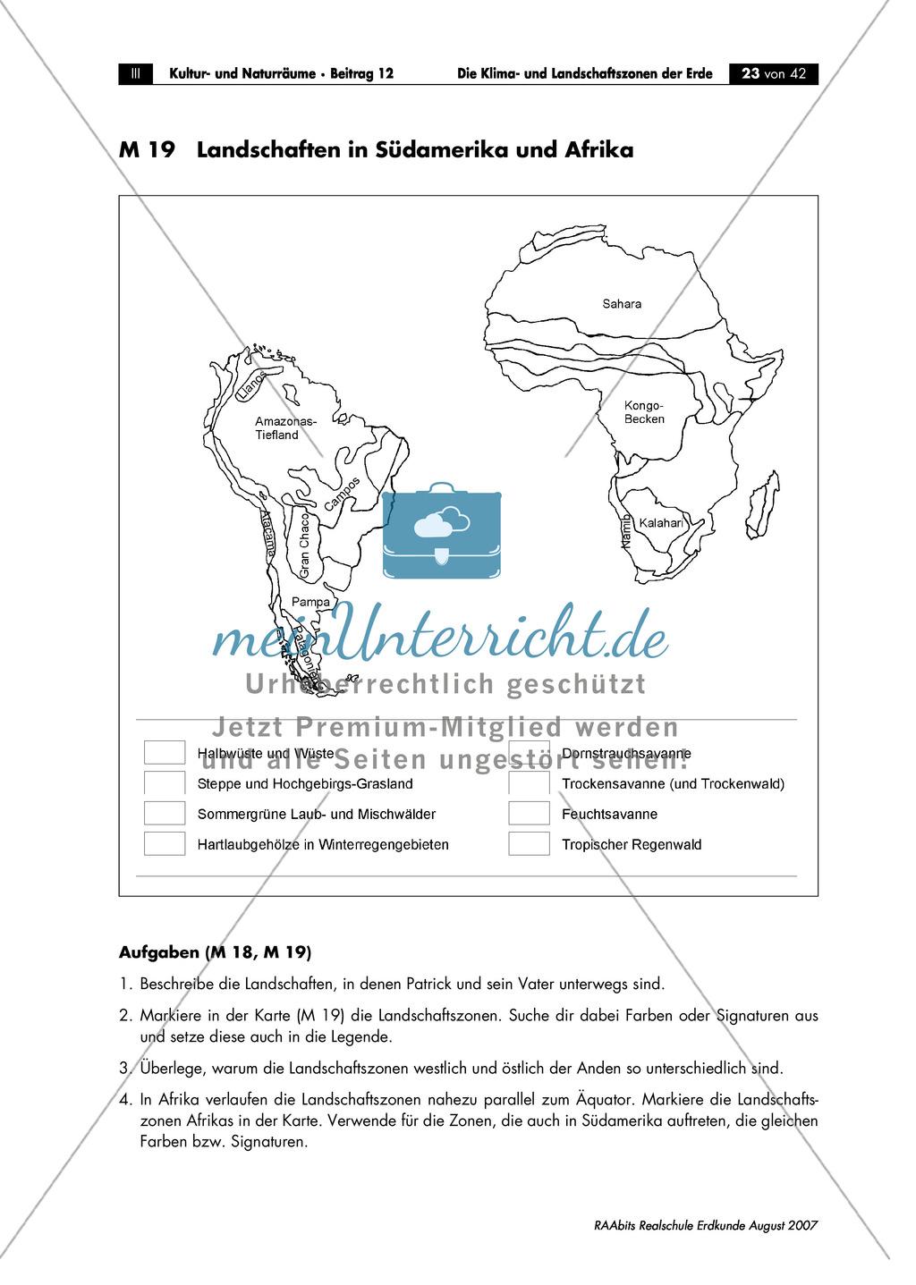 Klima- und Landschaftszonen der Erde: Landschaftszonen der Erde Preview 1