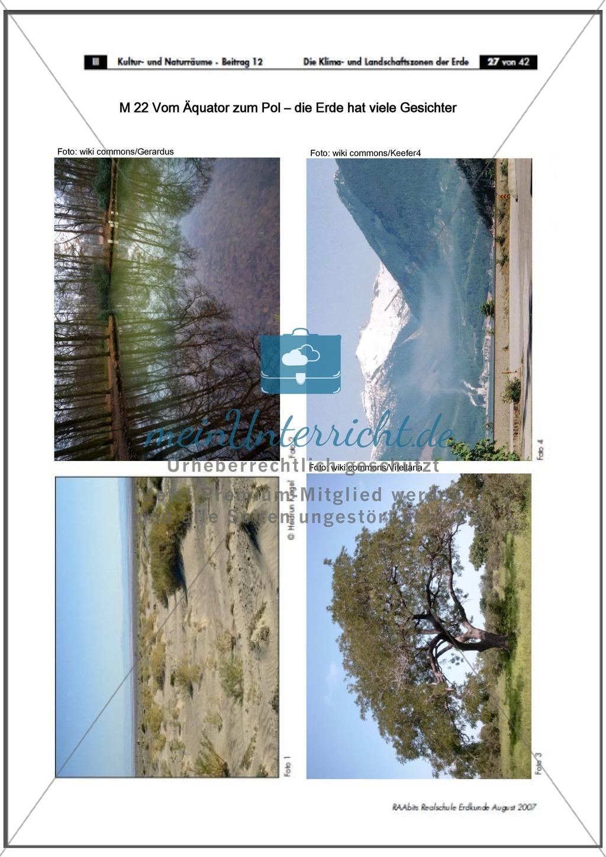 Klima- und Landschaftszonen der Erde: Landschaftszonen der Erde Preview 5
