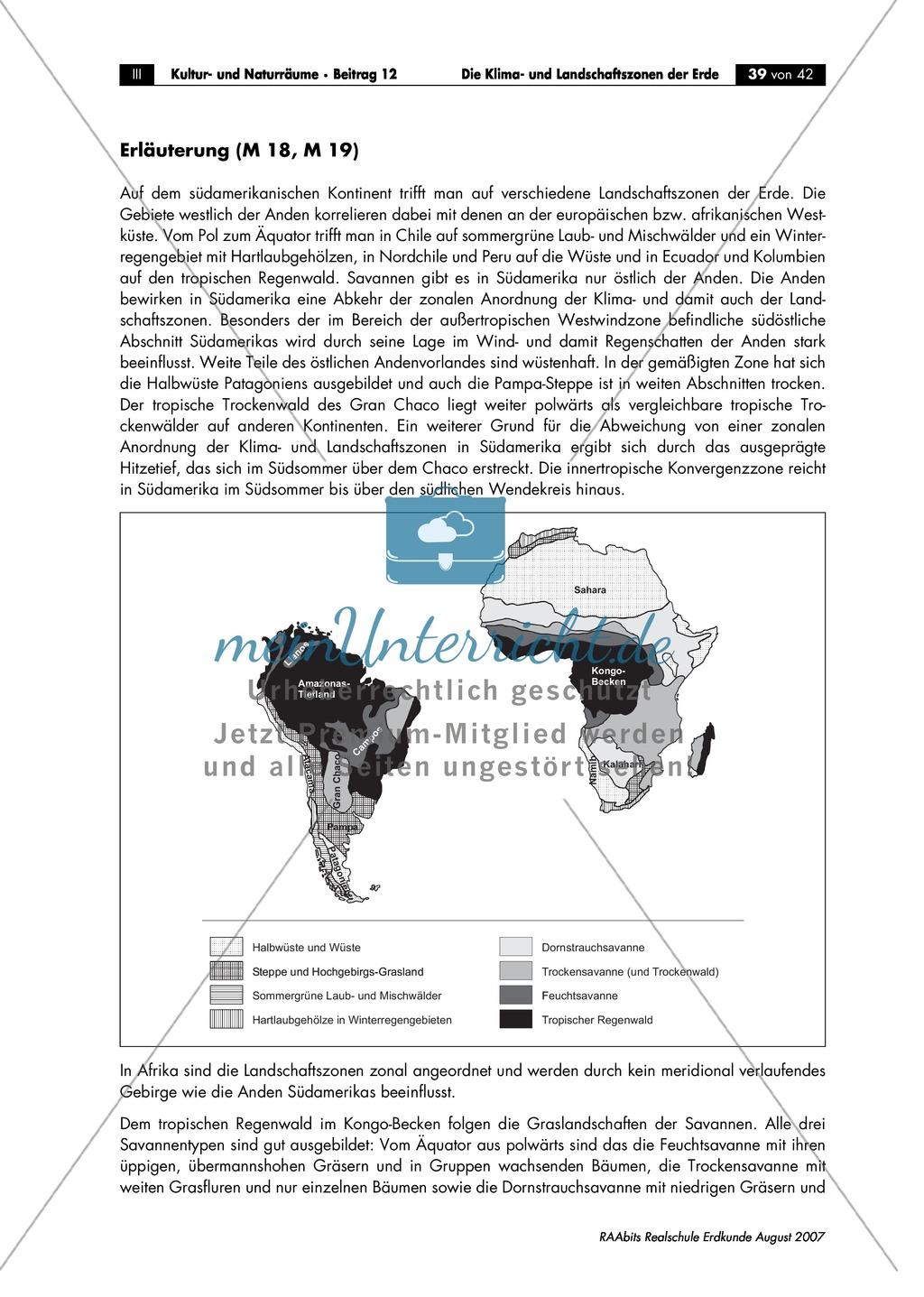 Klima- und Landschaftszonen der Erde: Landschaftszonen der Erde Preview 6