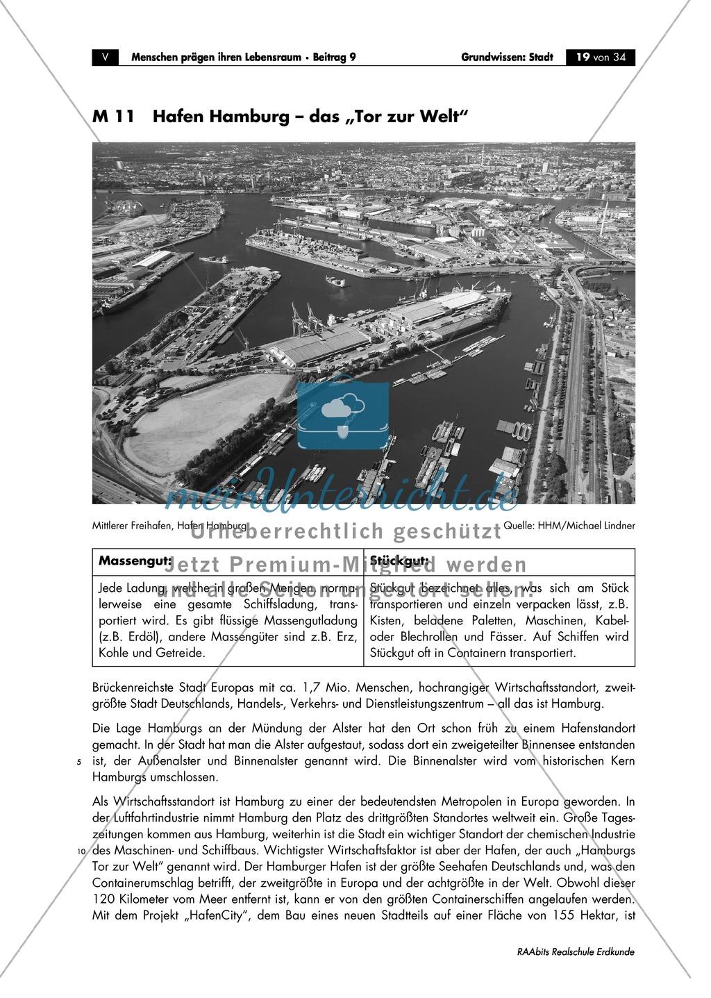 Grundlagen Stadt: Hamburg - Hafencity + Städtebauprojekt Preview 0