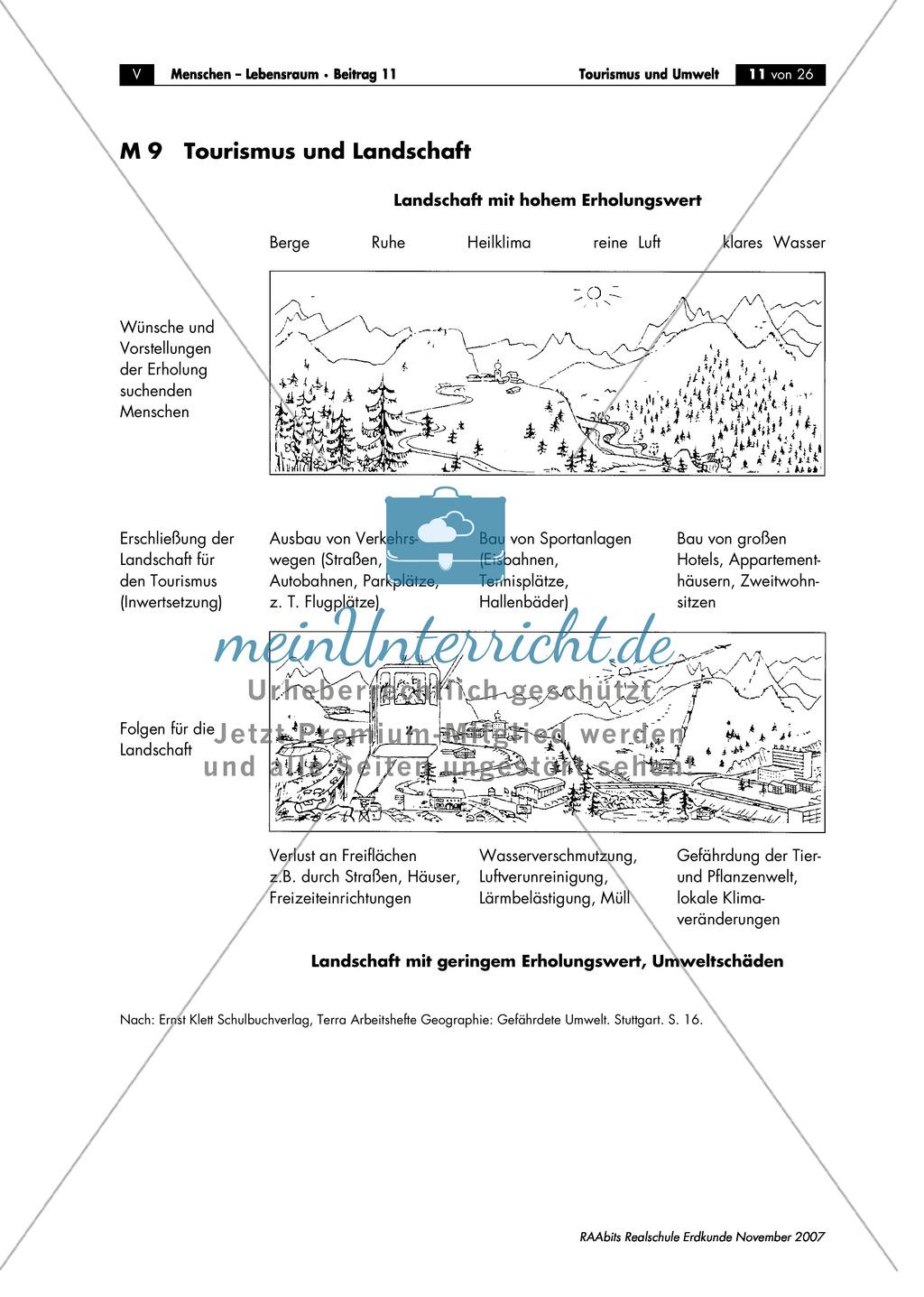 Umweltschutz im Tourismus: Umweltschädigung + Massentourismus Preview 2