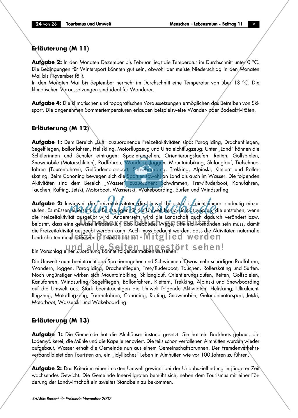 Umweltbelastung im Feriengebiet Klagenfurt: Auswertung eines Klimadiagramms Preview 1