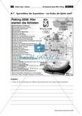 Ein geographischer Blick auf die Olympischen Spiele 2008 in Peking - Informationen + Aufgaben Preview 10