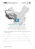 Der Fackellauf der Olympischen Spiele: topographische Übung + Kreuzworträtsel Preview 4