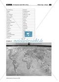 Der Fackellauf der Olympischen Spiele: topographische Übung + Kreuzworträtsel Preview 6