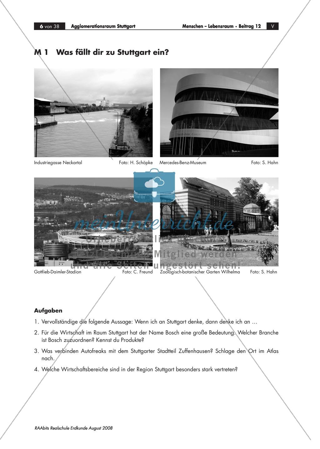 Brainstorming zur Stadt Stuttgart + Bilder Preview 0