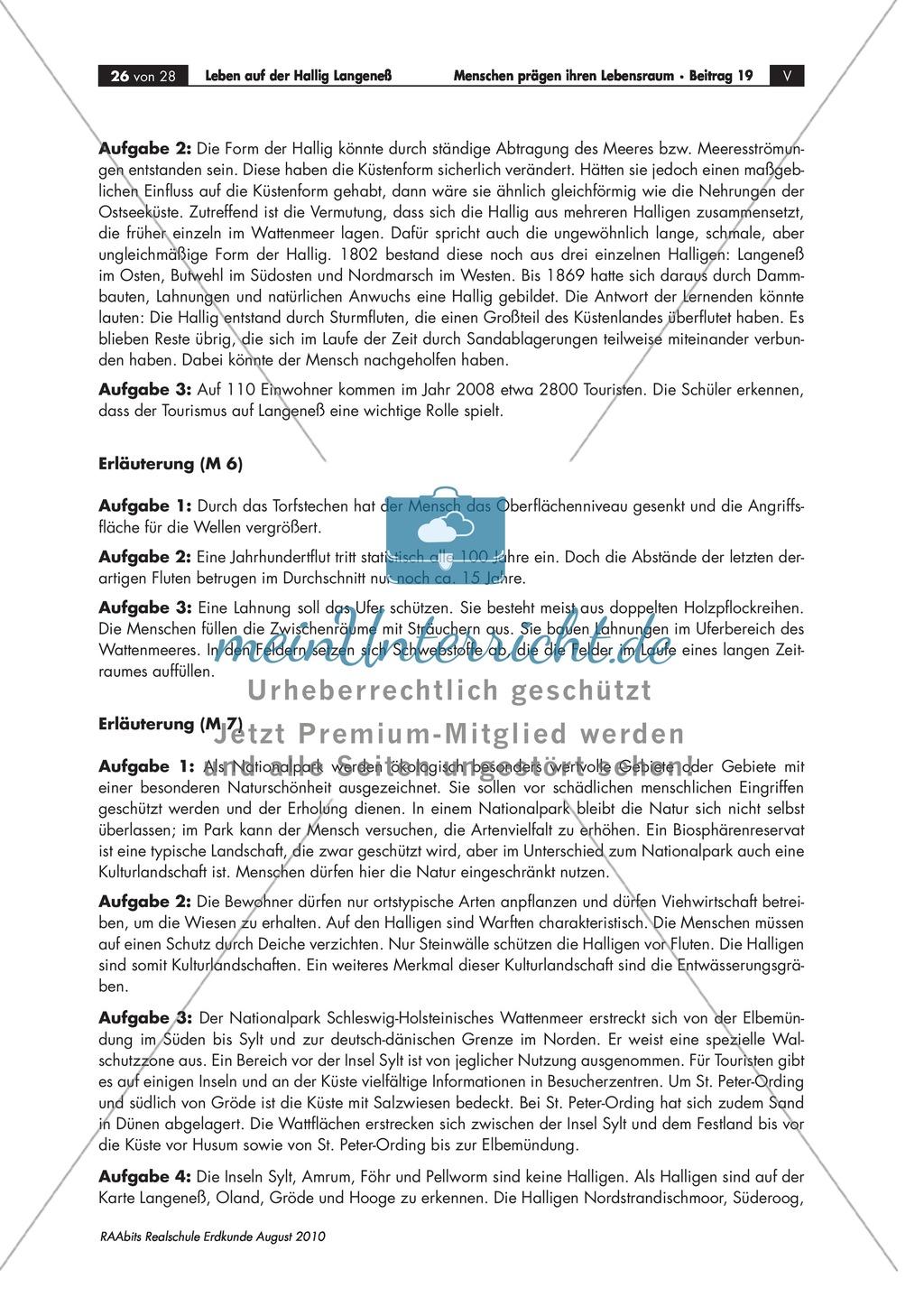 Die Hallig Langeneß: Orientierung und Anreise + allgemeine Merkmale von Halligen Preview 9