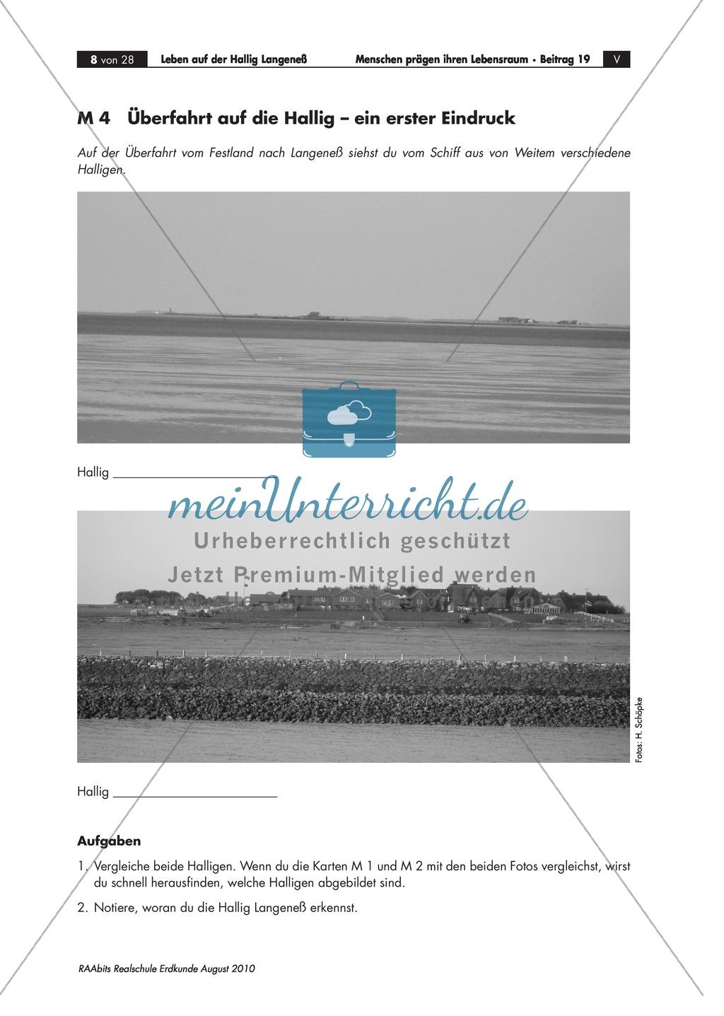Die Hallig Langeneß: Orientierung und Anreise + allgemeine Merkmale von Halligen Preview 4