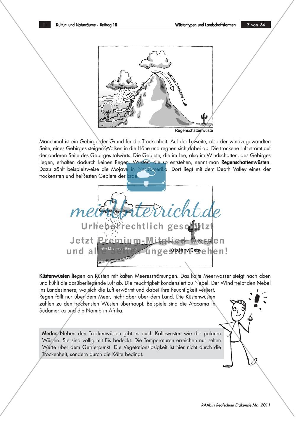 Wüsten - eine abwechslungsreiche Einführung Preview 2