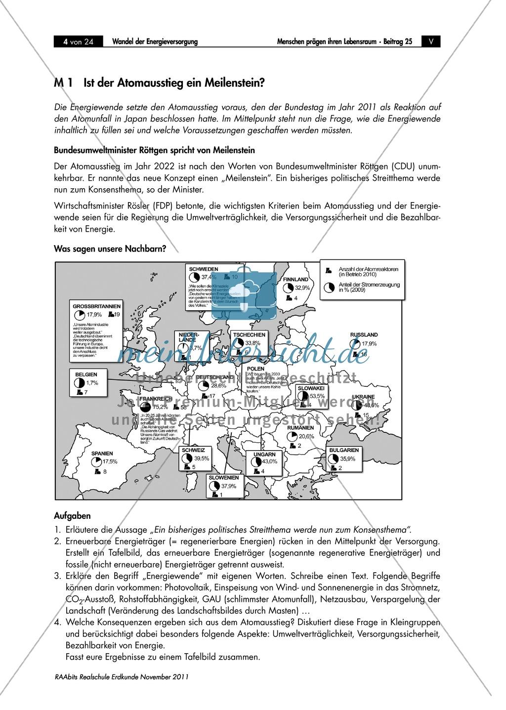 Der Wandel in der deutschen Energieversorgung: Energiewende Preview 0