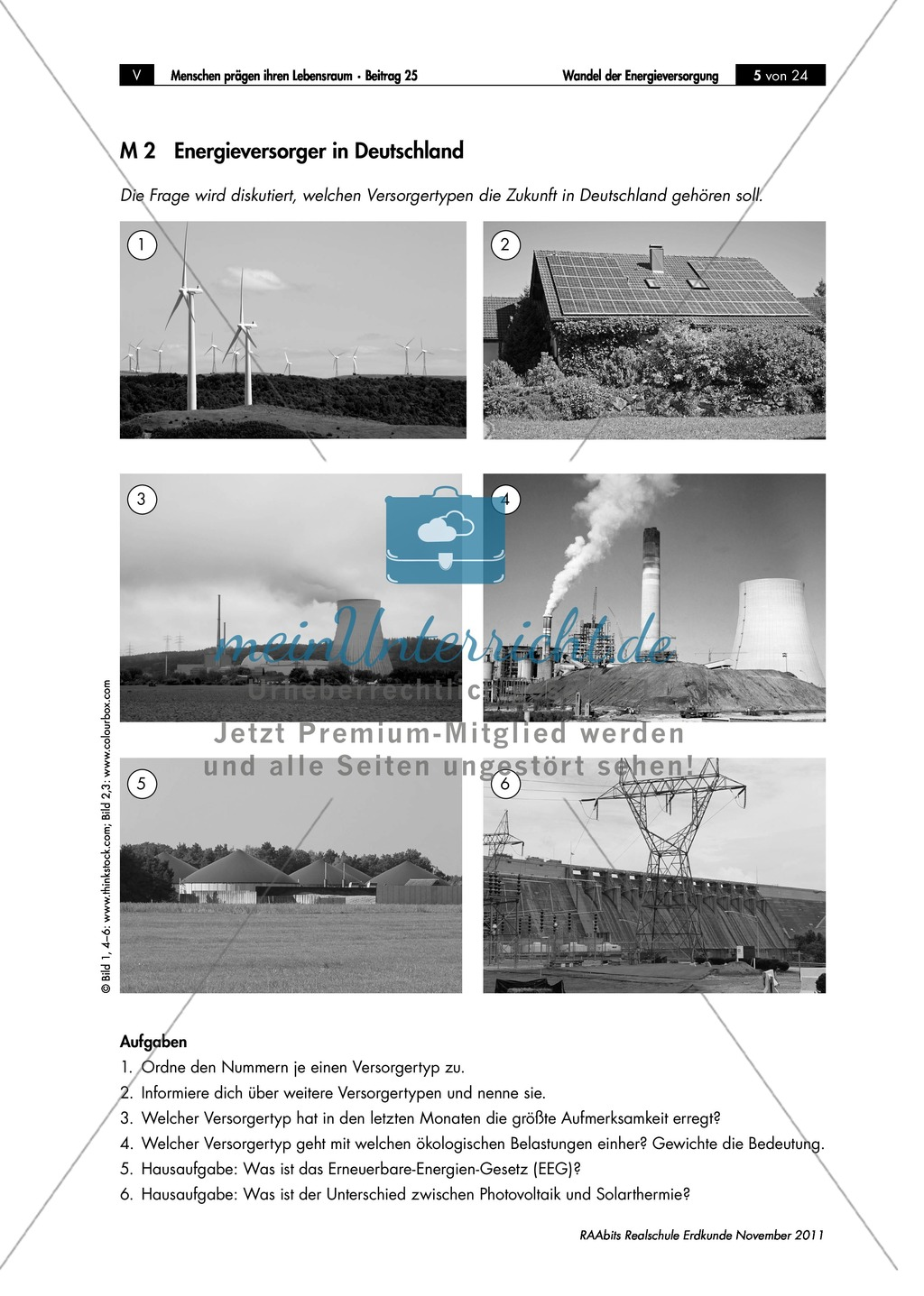 Der Wandel in der deutschen Energieversorgung: Energiewende Preview 1