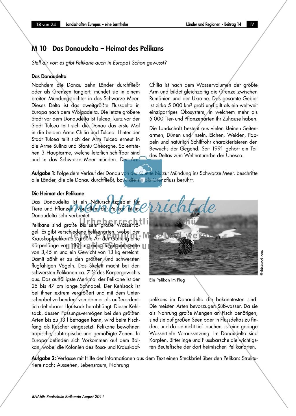 Europäische Landschaften kennenlernen: das Donaudelta Preview 0