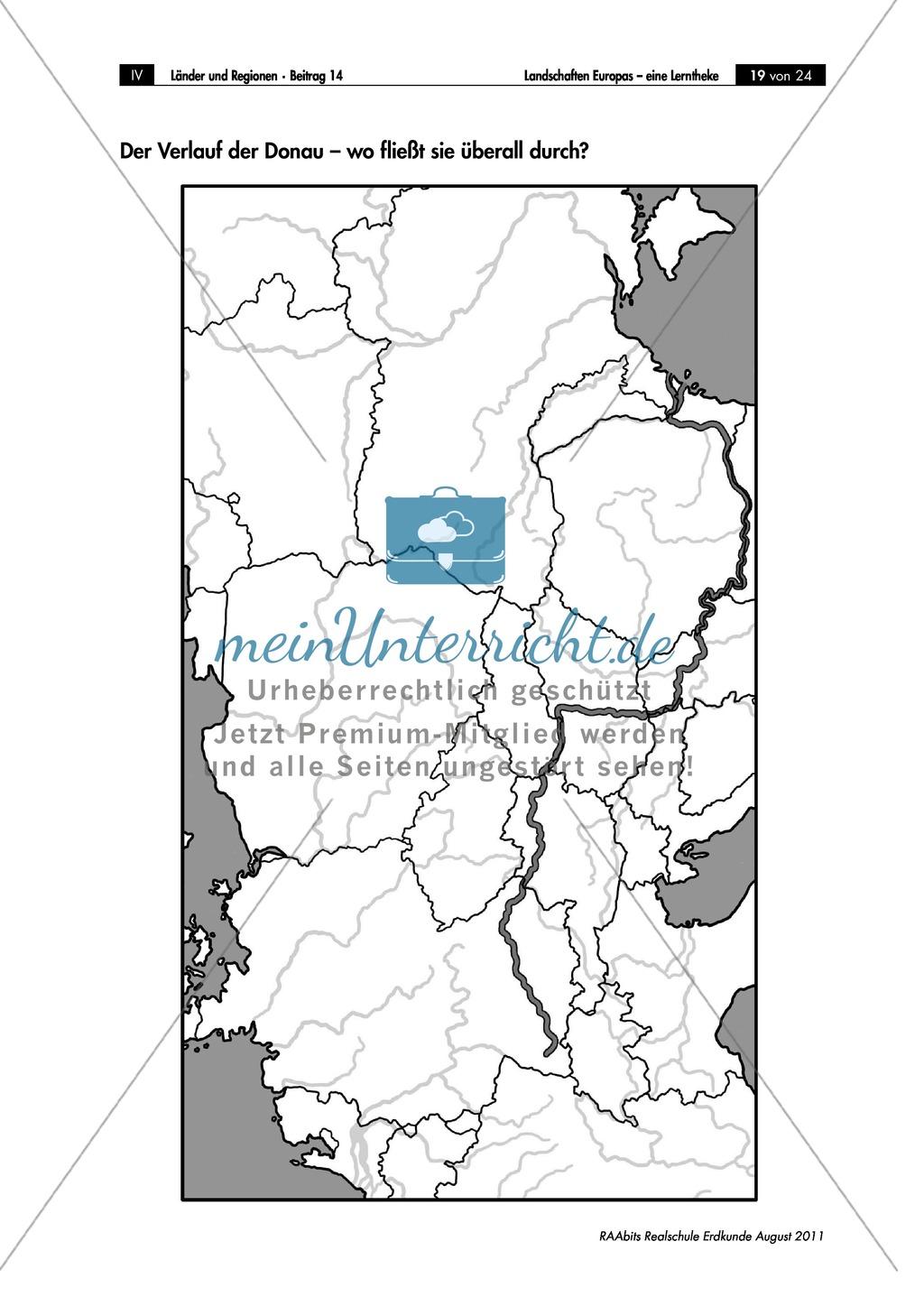 Europäische Landschaften kennenlernen: das Donaudelta Preview 1
