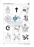 Drei Spiele zum Thema Weltreligionen - Judentum, Christentum und Islam Thumbnail 1