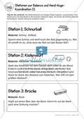 Stationentraining: Geschicklichkeitsparcours für draußen Preview 2