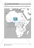 Kopiervorlage zu einer Übersicht über den Kontinent Afrika: Lückentexte, Rätsel und Karten zu Topographie + Staaten + Hauptstädten Thumbnail 13
